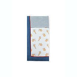 Little Me® Lion Giraffe Blanket in Blue