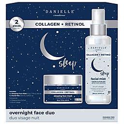 Danielle® Creations Collagen + Retinol Overnight Face Duo Set