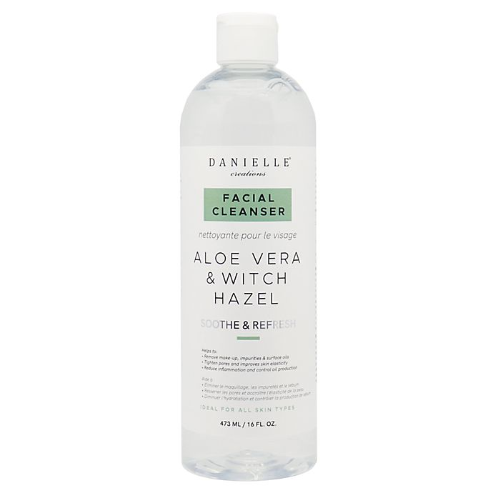 Alternate image 1 for Danielle® Creations 16 fl. oz. Facial Cleanser with Aloe Vera & Witch Hazel