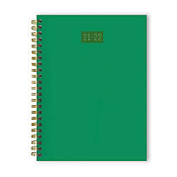 TF Publishing Medium Weekly/Monthly July 2021 - June 2022 Planner in Green/Multi