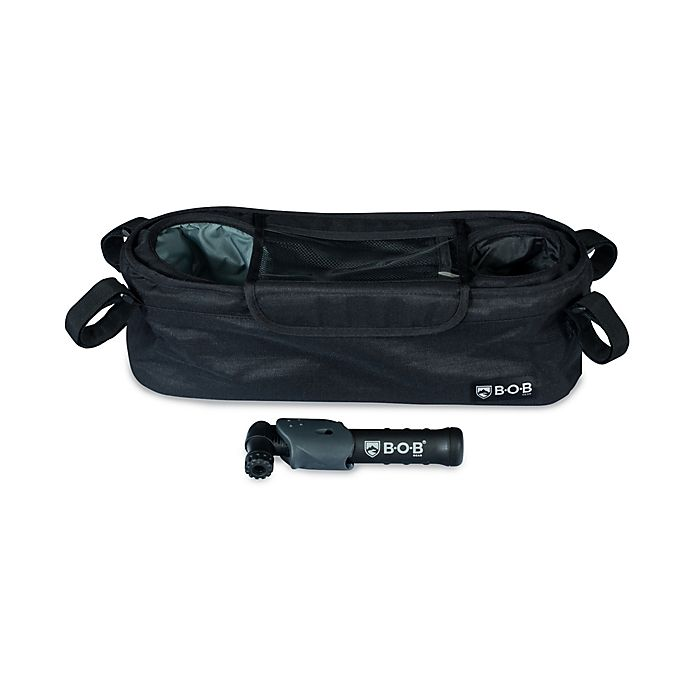 Alternate image 1 for BOB Gear® Deluxe Handlebar Console with Tire Pump
