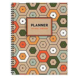 TF Publishing Hex July 2021 to June 2022 Large Planner
