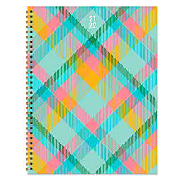 TF Publishing Plaid July 2021 to June 2022 Large Planner