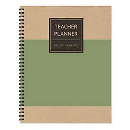 TF Publishing Olive Kraft 12-Month Teacher Planner