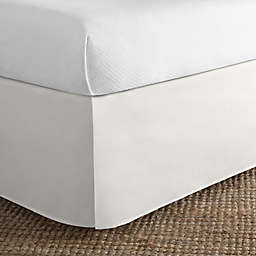 Simply Essential™ Microfiber Tailored Full Bed Skirt in Ivory