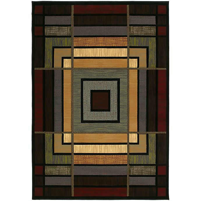 Alternate image 1 for United Weavers Ambiance Scatter Area Rugs in Smoke Blue
