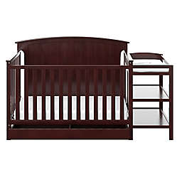 Storkcraft™ Steveston 4-in-1 Convertible Crib and Changer in Espresso