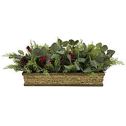 Bee & Willow™ 11-Inch Floral Centerpiece in Green