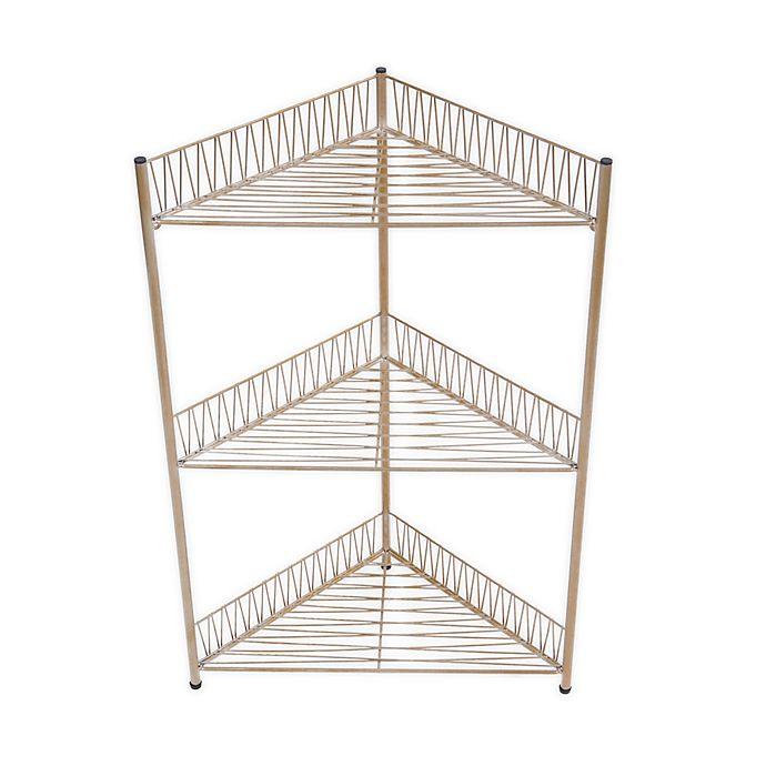 Alternate image 1 for Wild Sage™ Gemma 3-Tier Corner Wire Bath Tower