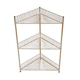 Wild Sage™ Gemma 3-Tier Corner Wire Bath Tower