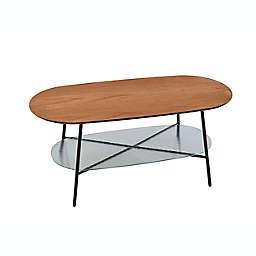 Adesso® Diane Coffee Table in Oak/Black