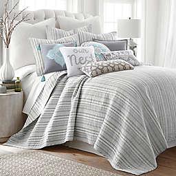 Levtex Home Penelope Stripe 3-Piece Quilt Set