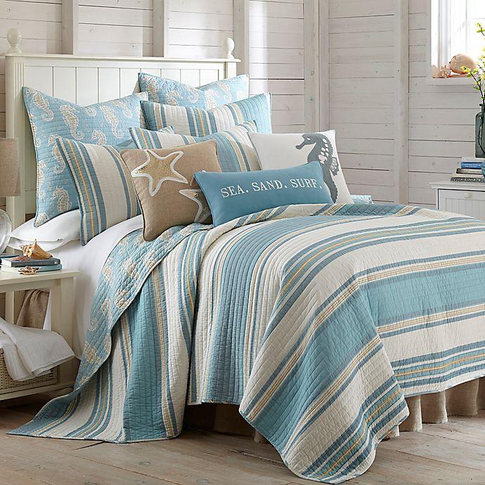 Alternate image 1 for Levtex Home Blue Maui 3-Piece Reversible Quilt Set