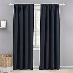 Levtex Baby 84-Inch Blackout Window Curtain Panel in Navy