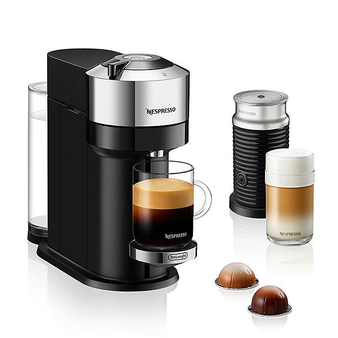 Alternate image 1 for Nespresso® Vertuo Next Deluxe Coffee & Espresso Maker Bundle by De'Longhi