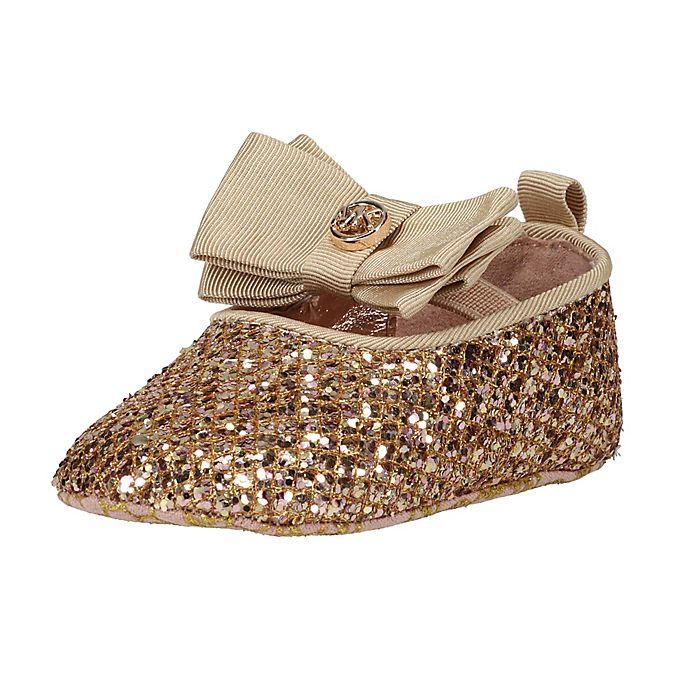 Alternate image 1 for Michael Kors® Ballet Flat Dress Shoe in Rose Gold