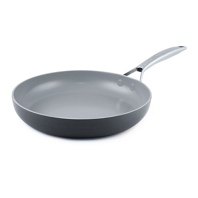 Alternate image 1 for GreenPan™ Paris Nonstick 12-Inch Hard Anodized Ceramic Fry Pan