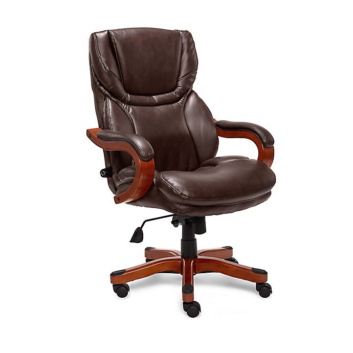 Alternate image 1 for Serta® Big and Tall Bonded Leather Executive Chair
