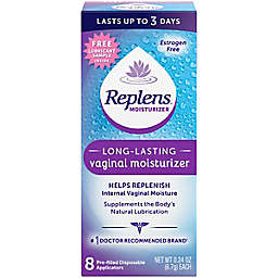 Replens® 8-Count .24 oz. Long-Lasting Vaginal Moisturizer Pre-Filled Disposable Applicators