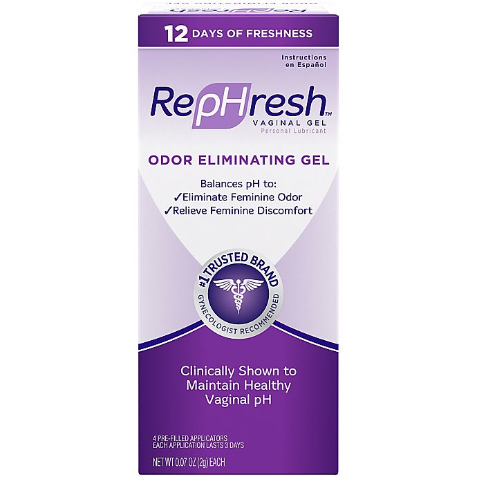 Alternate image 1 for RepHresh™ 4-Count .07 oz. Odor Eliminating Vaginal Gel Pre-Filled Applicators