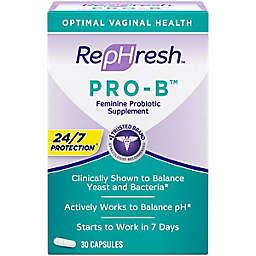 RepHresh™ Pro-B™ 30-Count Probiotic Feminine Supplement Capsules