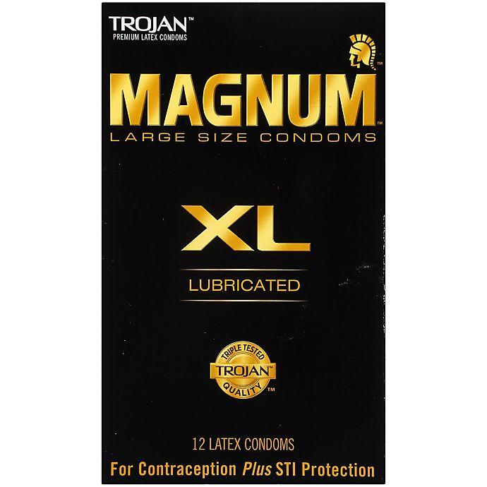 Alternate image 1 for Trojan® Magnum XL 12-Count Premium Latex Lubricated Condoms