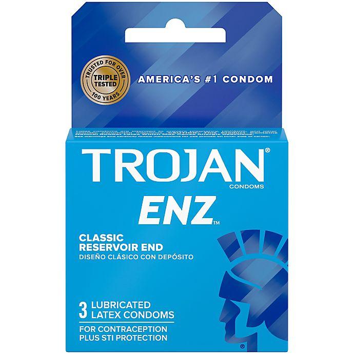 Alternate image 1 for Trojan® ENZ™ 3-Count Lubricated Premium Latex Condoms