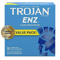 Trojan® ENZ™ 36-Count Lubricated Premium Latex Condoms