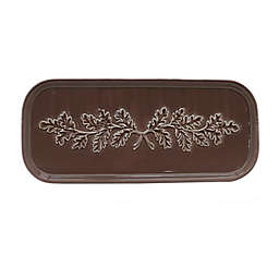 Bee & Willow™ Hays Leaf 13.35-Inch Oblong Platter in Iron