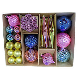 H For Happy™ 30-Count Wimsical Figural Christmas Ornaments