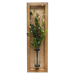 Bee & Willow™ Pussy Willow Vase Wall Decor