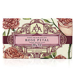 AAA 7 oz. Aromatherapy Triple Milled Bar Soap in Rose Petal