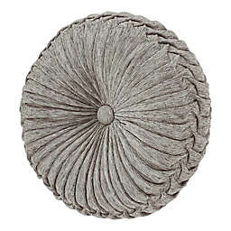 J. Queen New York™ Tiana Round Throw Pillow in Silver