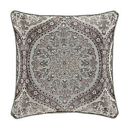 J. Queen New York™ Tiana Square Throw Pillow in Ice Blue