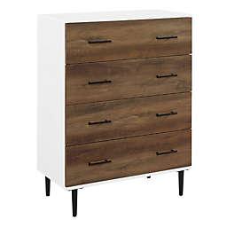 Forest Gate™ 40-Inch Modern 4-Drawer Dresser in Barnwood