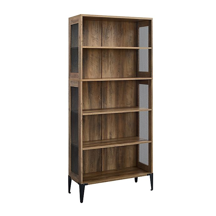 Alternate image 1 for Forest Gate™ 68-Inch 5-Shelf Industrial Bookcase