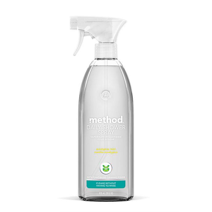 Alternate image 1 for Method® Eucalyptus Mint 28 oz. Daily Shower Cleaner