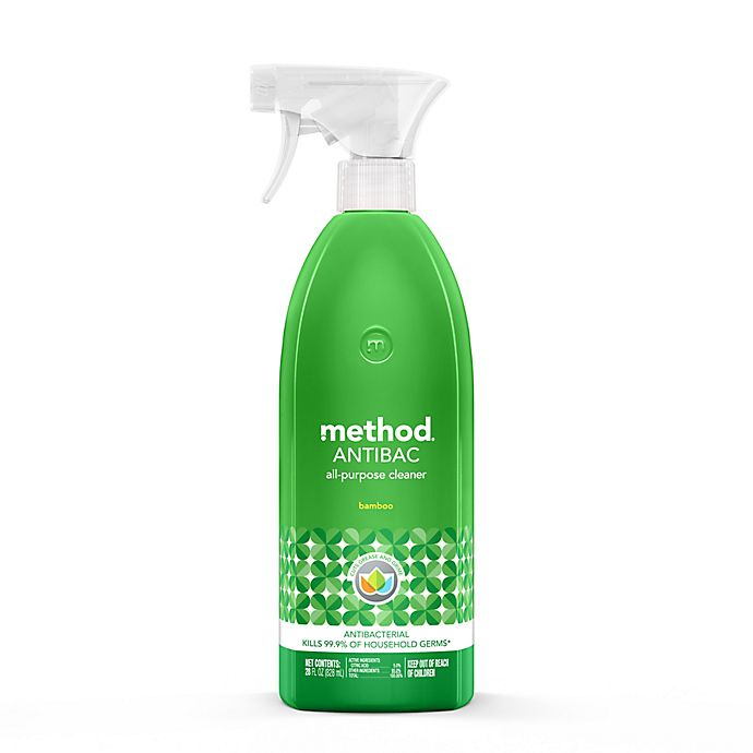 Alternate image 1 for Method® 28 oz. Anti-Bac All-Purpose Cleaner in Bamboo