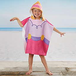 Princess Kids Poncho Beach and Pool Towel