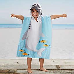Shark Kids Poncho Beach and Pool Towel