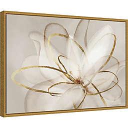 Transparent Beauty Framed Wall Art in Gold