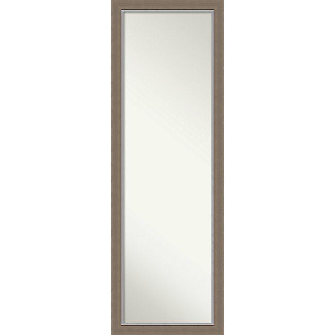 Alternate image 1 for Eva 17-Inch x 51-Inch Framed On the Door Mirror