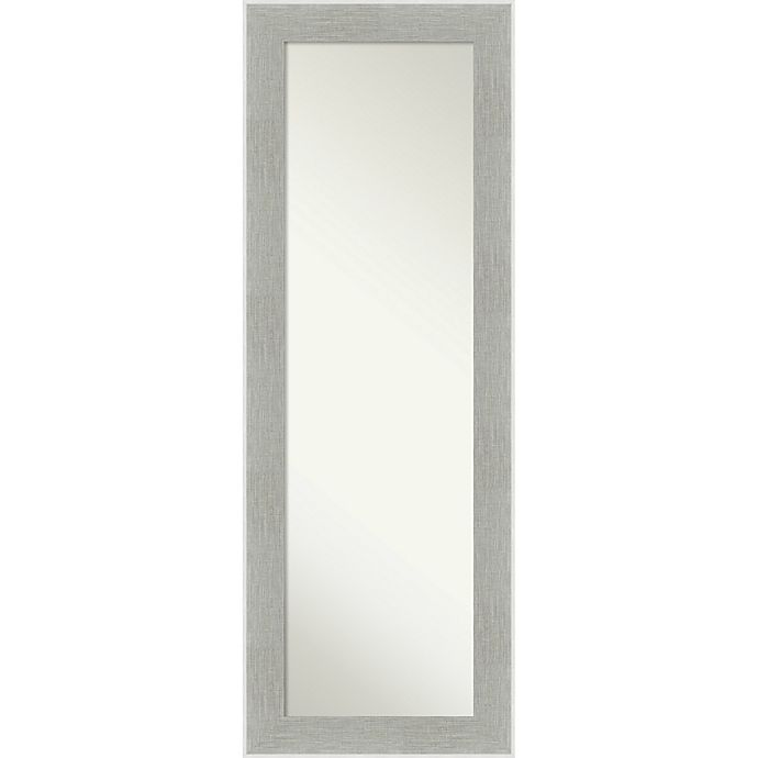 Alternate image 1 for Glam Linen 19-Inch x 53-Inch Framed On the Door Mirror