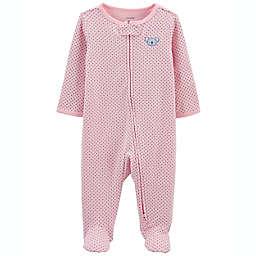 carter's® Koala Bear 2-Way Zip Cotton Sleep & Play in Pink