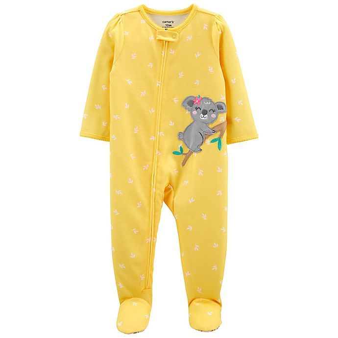 Alternate image 1 for carter's® Loose-Fit Footed Pajama