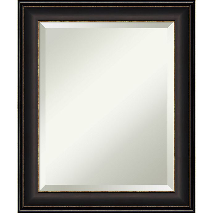 Alternate image 1 for Amanti Art Trio Oil Rubbed Framed Wall Mirror in Bronze