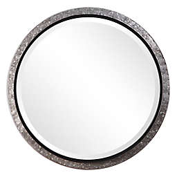 26-Inch Val Round Wall Mirror in Metal