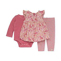 Burt's Bees Baby® Organic Cotton Wild Floral Tunic, Bodysuit and Legging Set
