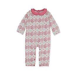 Burt's Bees Baby® Organic Cotton Mosaic Jumpsuit in Blue/Pink