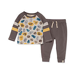 Burt's Bees Baby® Size 12M I Dig It Raglan Tee & French Terry Pant Set